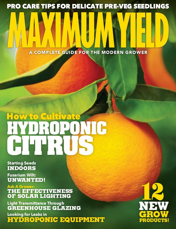 Maximum Yield USA March 2019