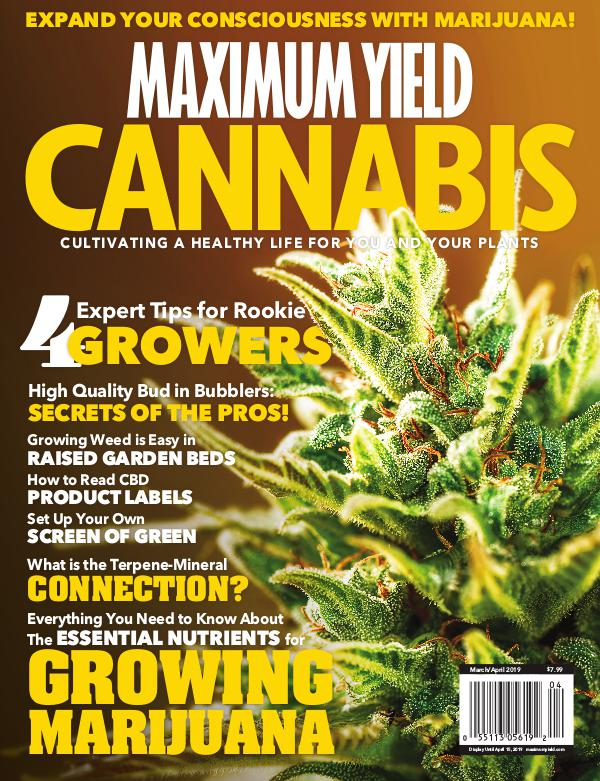 Maximum Yield Cannabis USA March/April 2019