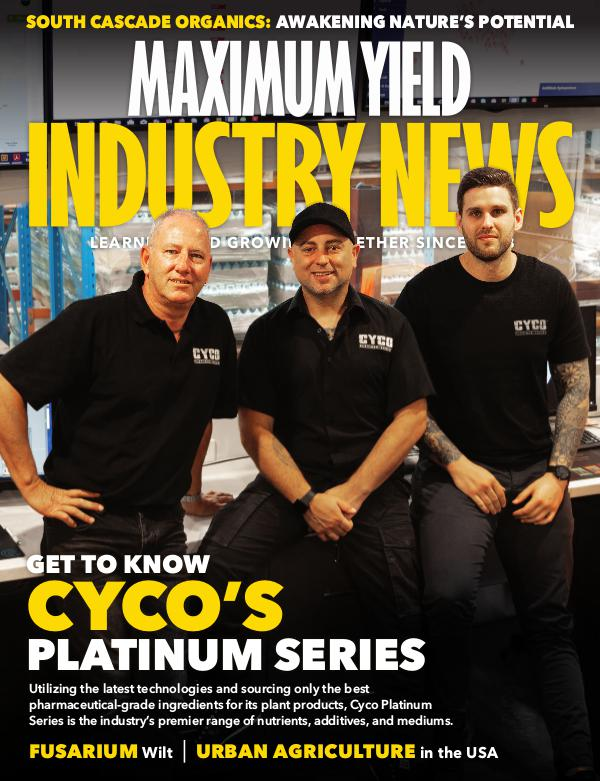 Maximum Yield's Industry News March 2019