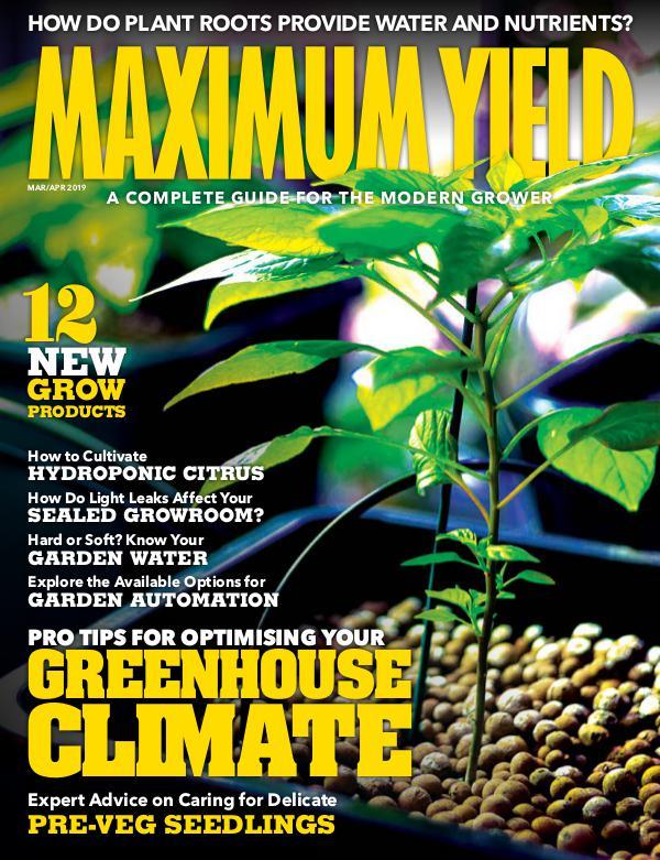 Maximum Yield Australia/New Zealand March/April 2019
