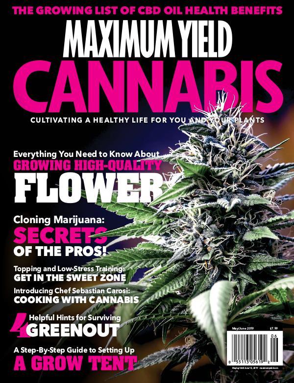 Maximum Yield Cannabis USA May/June 2019