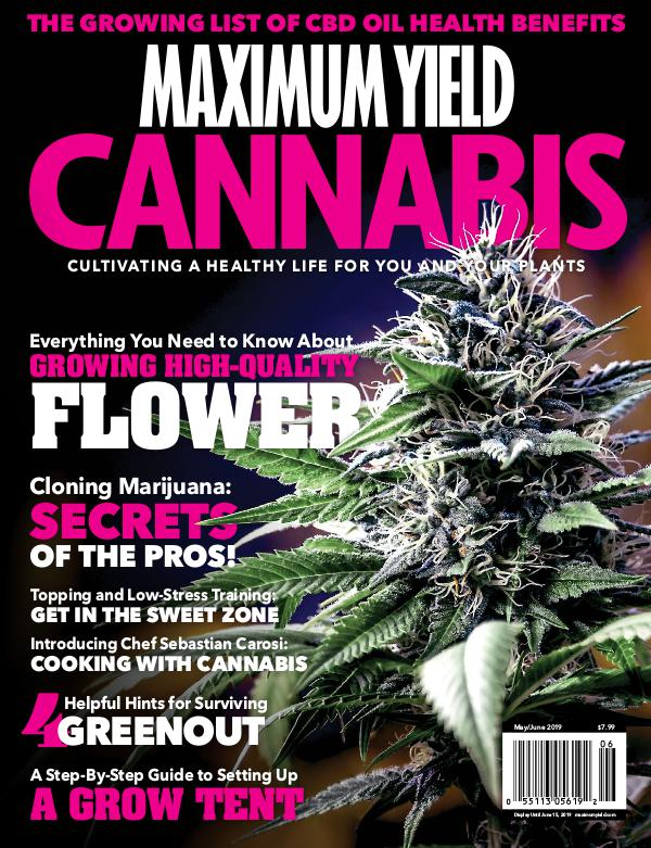 Maximum Yield Cannabis USA May/June 2019