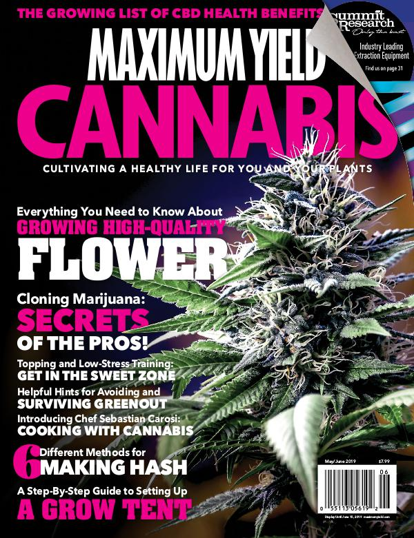 Maximum Yield Cannabis Canada May/June 2019