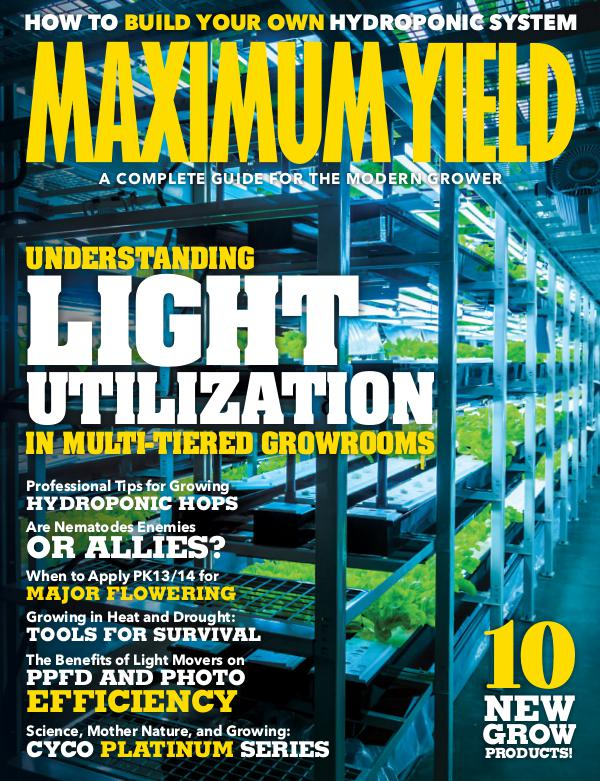 Maximum Yield USA June/July 2019