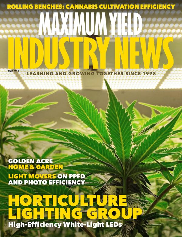 Maximum Yield's Industry News May 2019