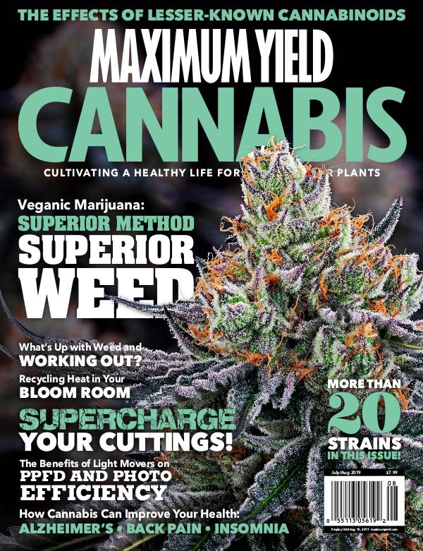 Maximum Yield Cannabis USA July/August 2019