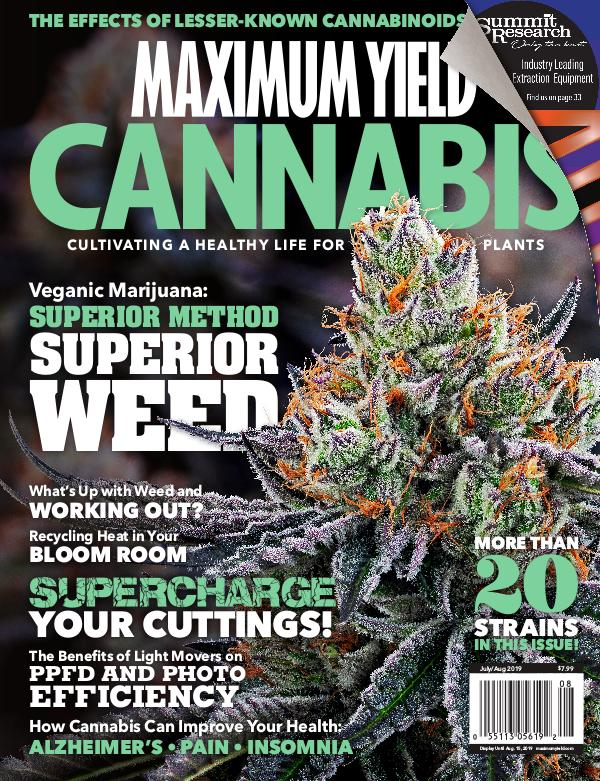 Maximum Yield Cannabis Canada July/August 2019