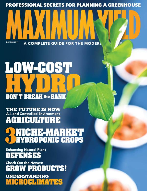 Maximum Yield Australia/New Zealand July/August 2019