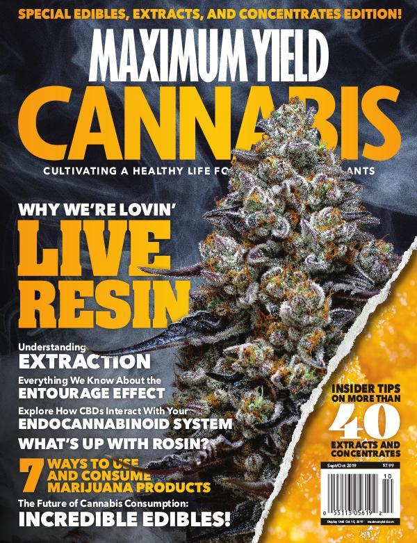 Maximum Yield Cannabis Canada September/October 2019