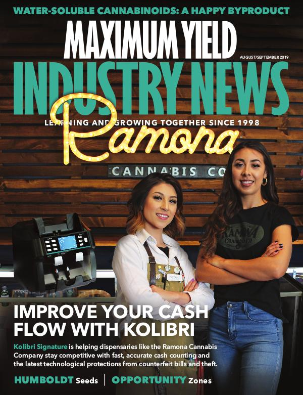 Maximum Yield's Industry News August/September 2019