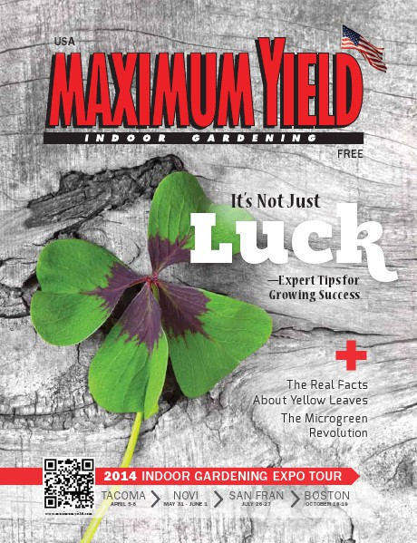 Maximum Yield USA 2014 March