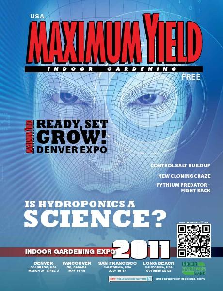Maximum Yield USA 2011 March