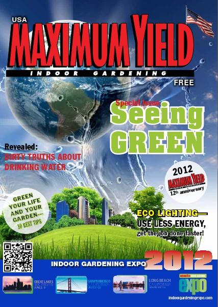 Maximum Yield USA 2012 April