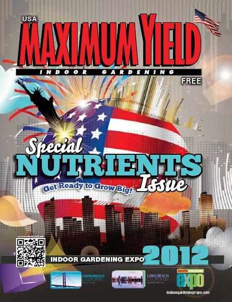 Maximum Yield USA 2012 July