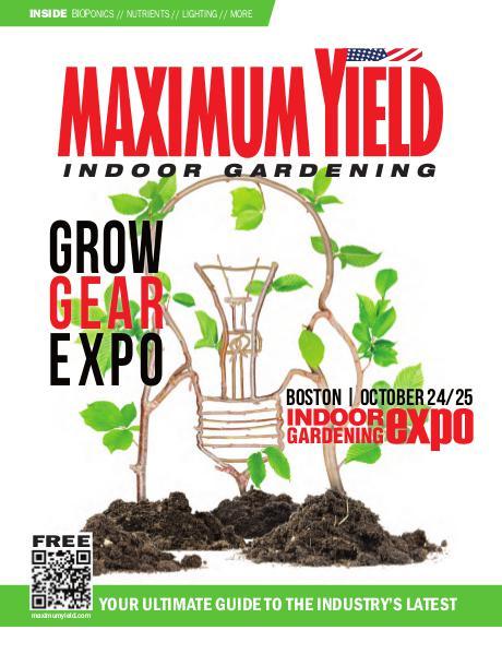 Maximum Yield USA 2015 October