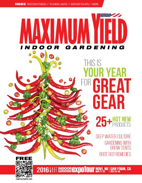 Maximum Yield USA 2015 December
