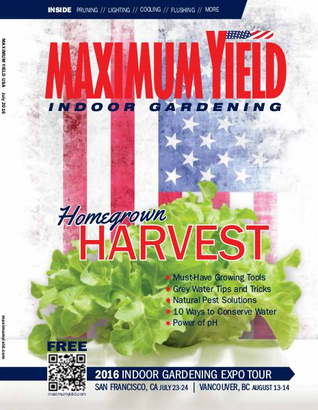 Maximum Yield USA July 2016