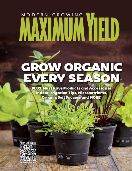 Maximum Yield USA October 2016