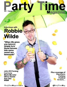 Party Time Magazine Party Time Magazine 2012 Issue 34 Robbie  Freeview