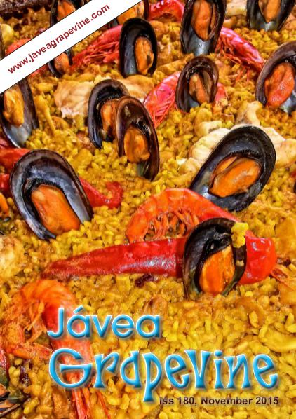Javea Grapevine Issue 180 - LARGE FONT EDITION