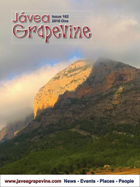 Javea Grapevine Issue 182 2016 One