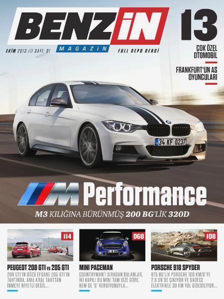 Benzin Magazin EKİM 2013