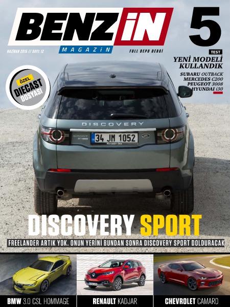 Benzin Magazin HAZİRAN 2015