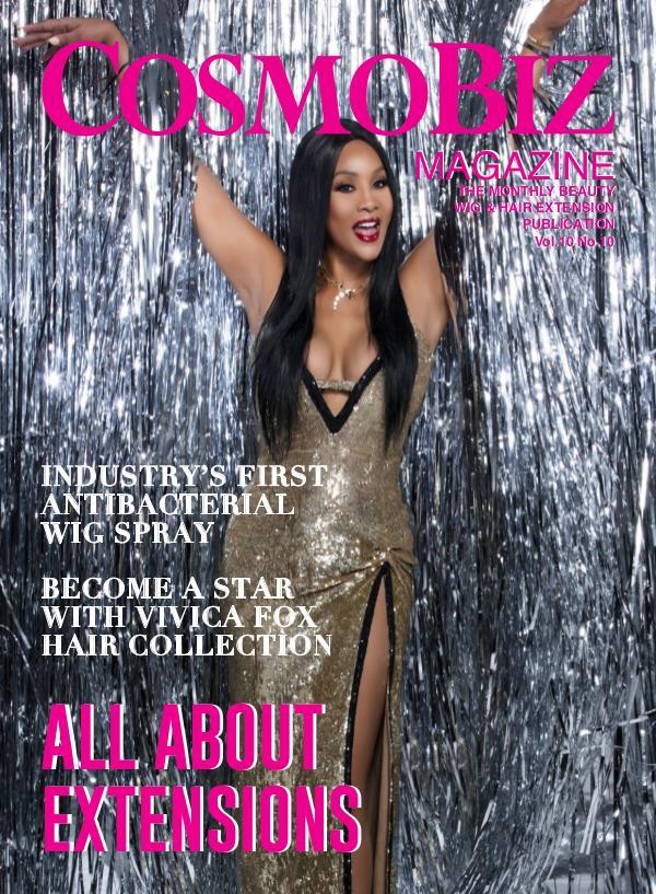 CosmoBiz Magazine JULY 2019