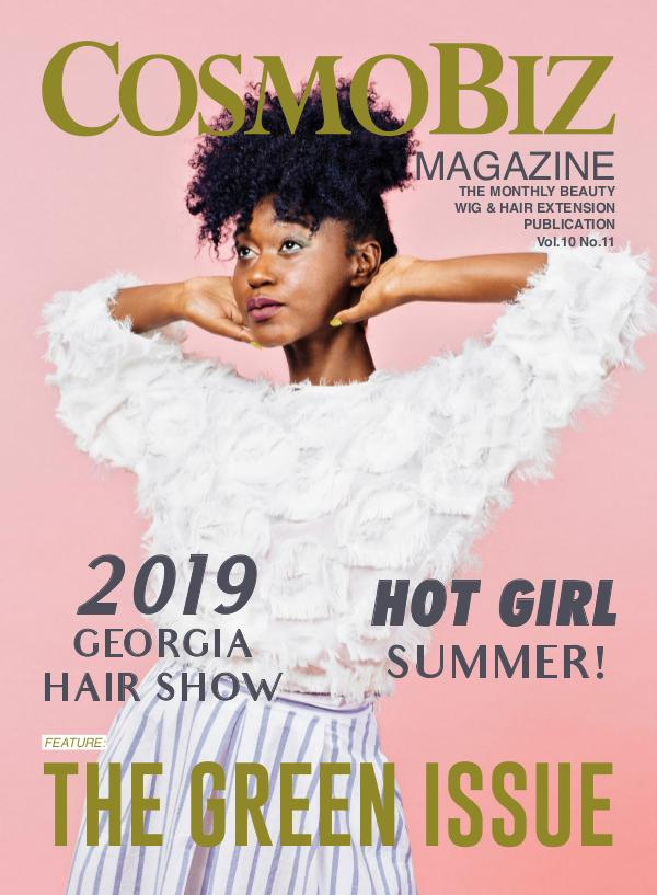 CosmoBiz Magazine August 2019 Issue
