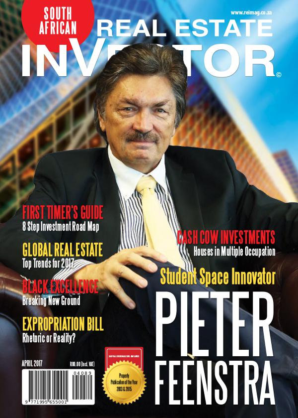 Real Estate Investor Magazine South Africa Real Estate Investor Magazine - April 2017