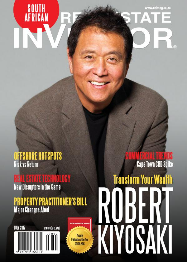 Real Estate Investor Magazine South Africa Real Estate Investor Magazine - July 2017