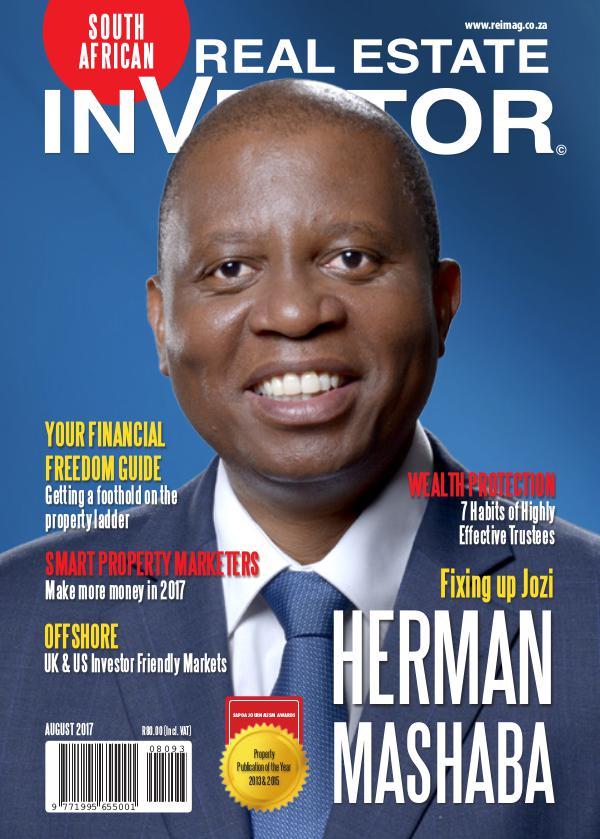 Real Estate Investor Magazine - August 2017