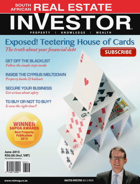 Real Estate Investor Magazine South Africa June 2013