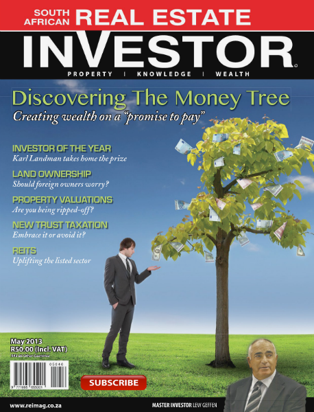 Real Estate Investor Magazine South Africa May 2013