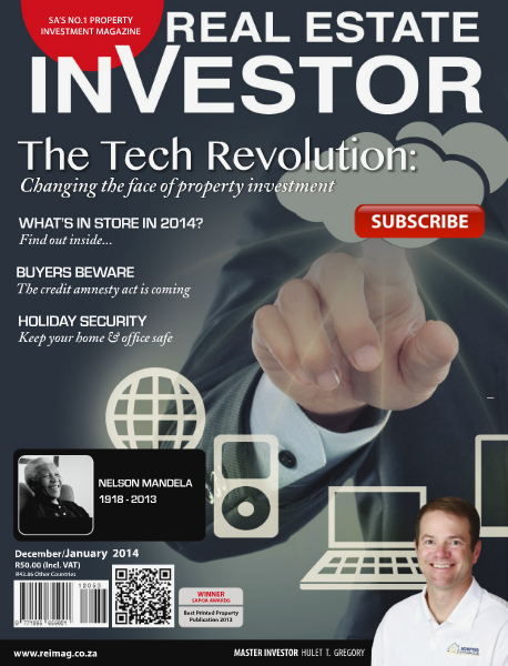 Real Estate Investor Magazine South Africa December - January 2014