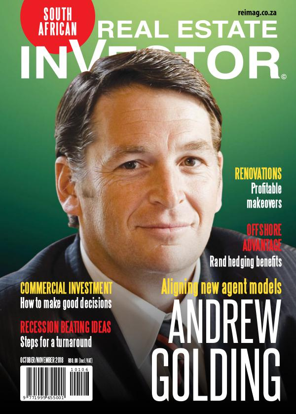 Real Estate Investor Magazine South Africa October 2018