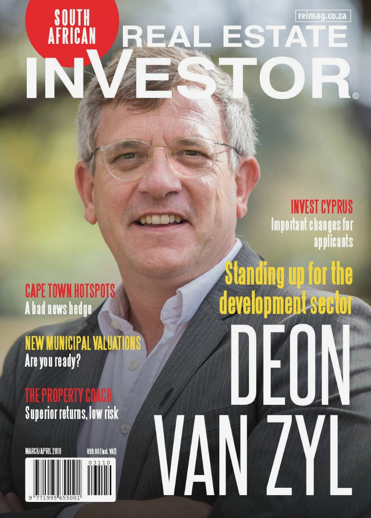Real Estate Investor Magazine South Africa March/April 2019