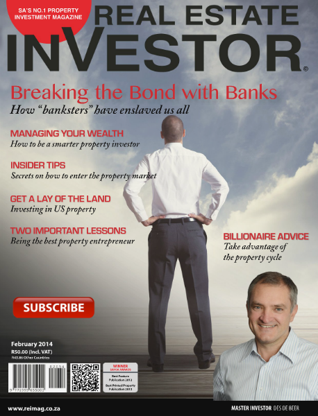 Real Estate Investor Magazine South Africa February 2014
