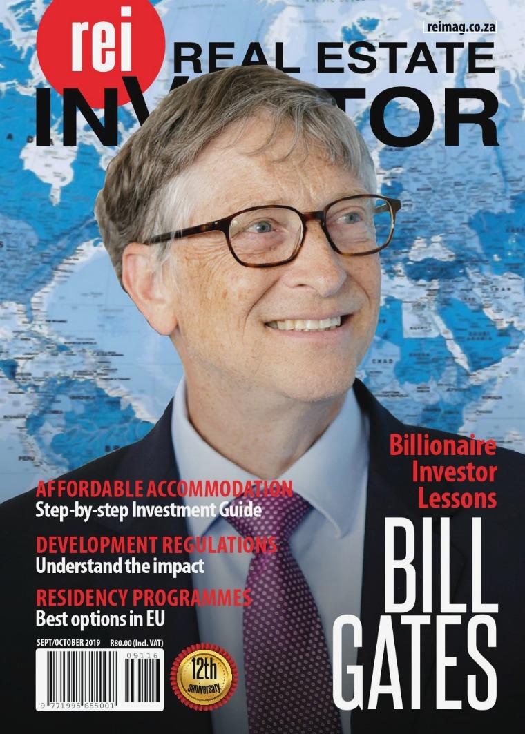 Real Estate Investor Magazine South Africa September/ October 2019
