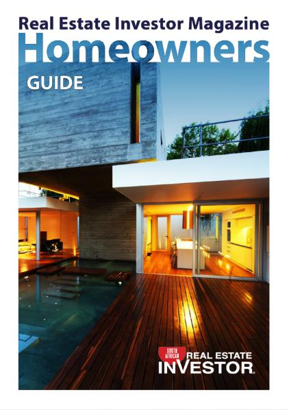 Real Estate Investor Magazine South Africa Homeowners Guide 2016