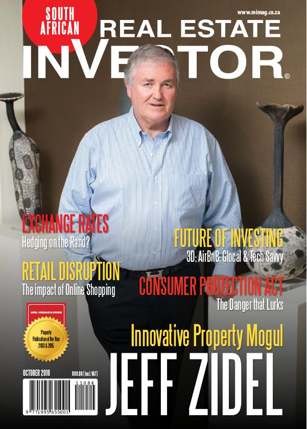 Real Estate Investor Magazine South Africa October 2016