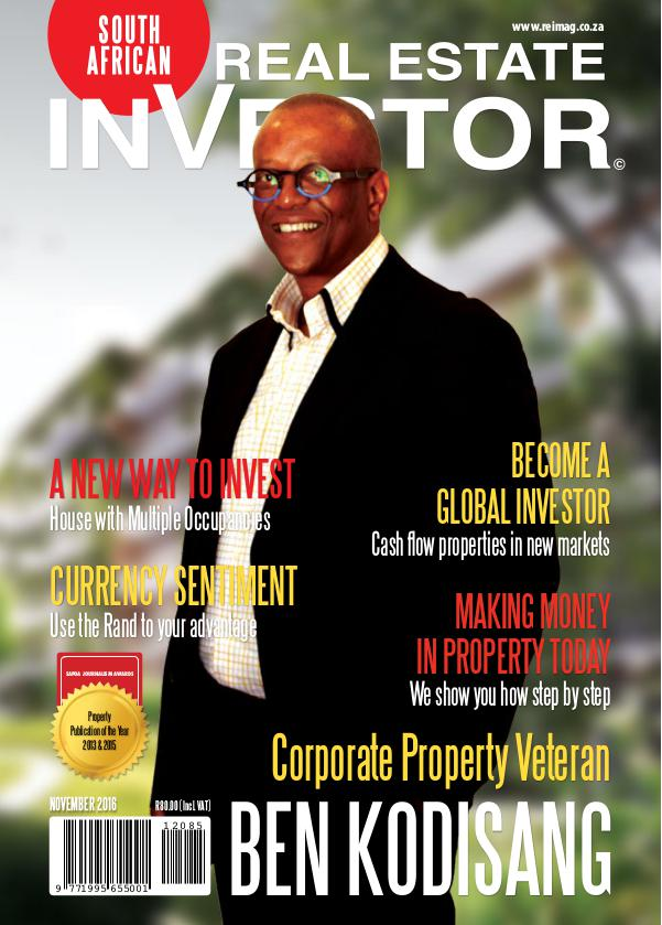 Real Estate Investor Magazine South Africa November 2016
