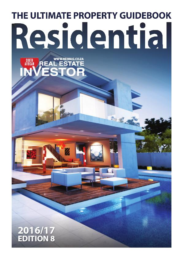 Real Estate Investor Magazine South Africa Residential Handbook Dec/Jan 2017