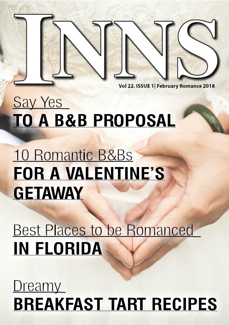 Inns Magazine Issue 1 Vol 22 Romance 2018
