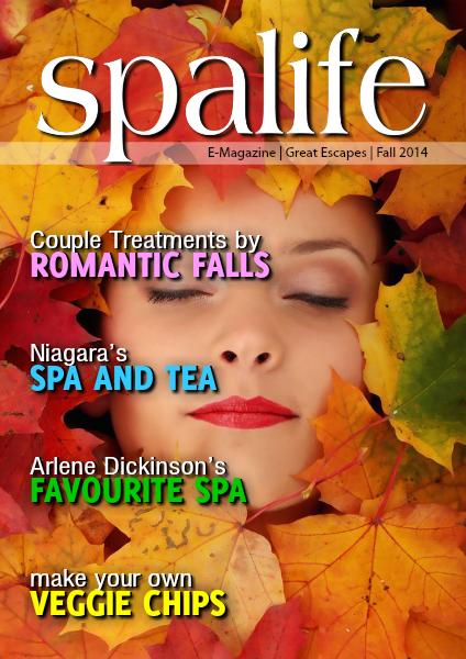 Spa Life E-Magazine Issue 3 Vol. 14 Fall Great Escapes 2014