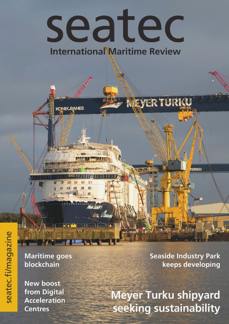 seatec - Finnish marine technology review 1/2018
