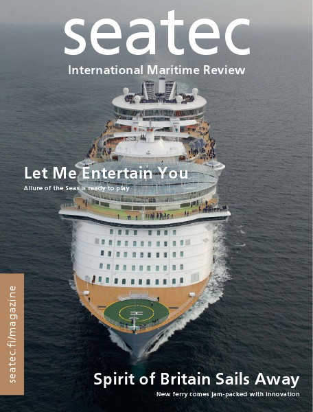 seatec - Finnish marine technology review 1/2011