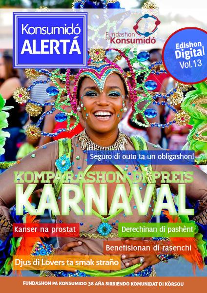 Konsumidó Alertá Volumen 13, yanüari 2015