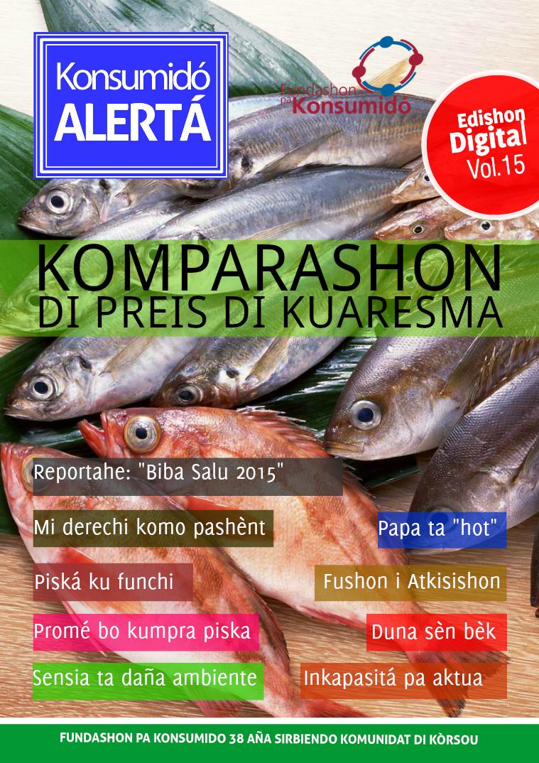 Volumen 15, mart 2015