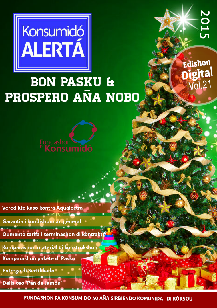 Volumen 21, Novèmber-Dezèmber 2015